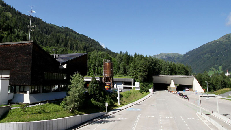 Tunnelportal Arlbergtunnel