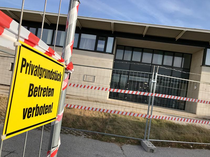 Asylquartier in Drasenhofen