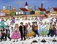 Slowakische Naive Kunst aus Serbien, aus Kovačica