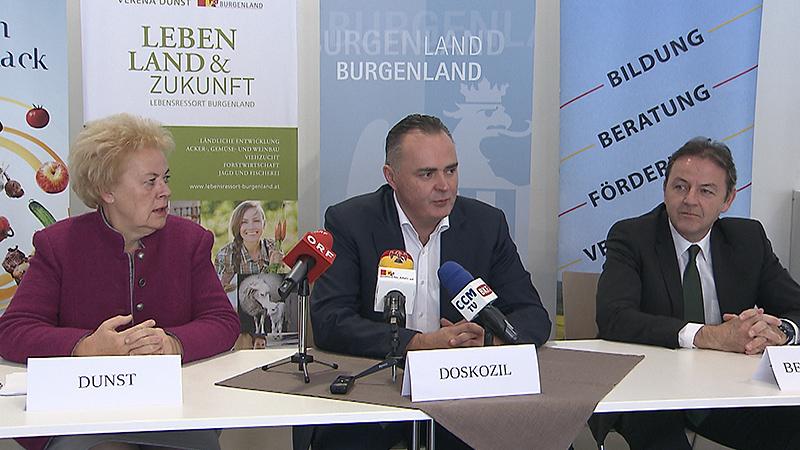 Einigung zwischen LWK und Land, Verena Dunst, Doskozil, Berlakovich