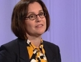 Diakonie-Chefin Katharina Maria Moser in ORF-Pressestunde