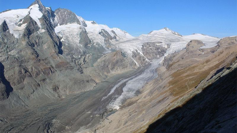 Pasterze Gletscher Schmelze ZAMG