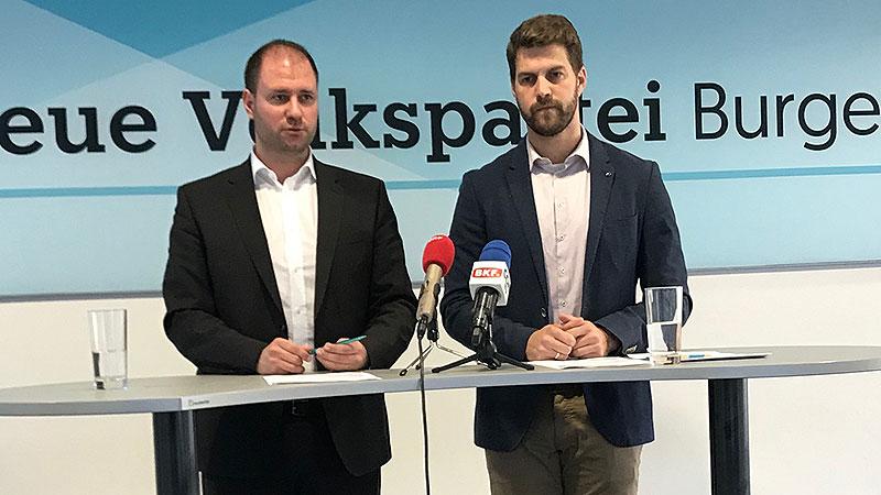 Landesverwaltungsgericht ÖVP-Kritik:  Sagartz Christian und Wolf Christoph
