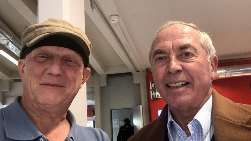 Karl Schranz bei Rainer Perle