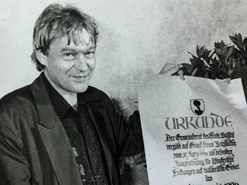 Jazzmusiker Uli Scherer verstorben