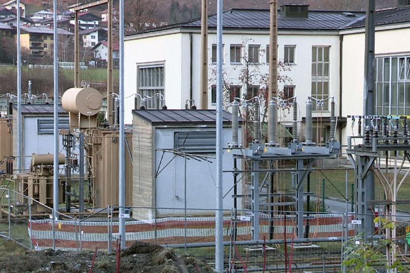 Umspannwerk in Schwarzach im Pongau