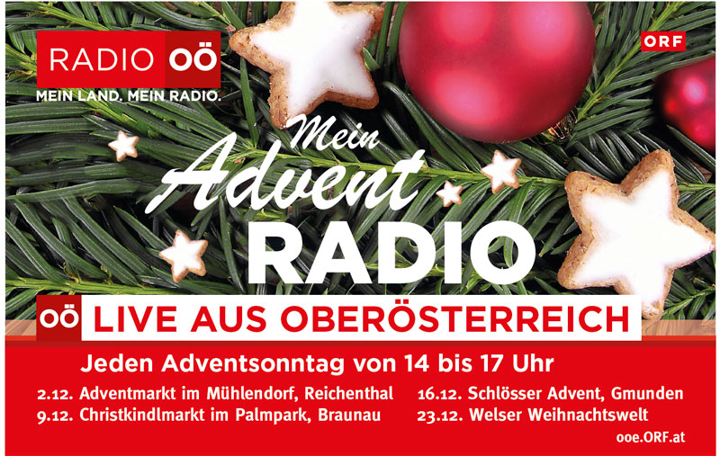 Mein Adventradio 2018
