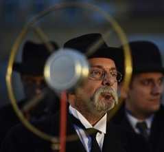 herec Otakar Brousek jako Tomáš Garrigue Masaryk
