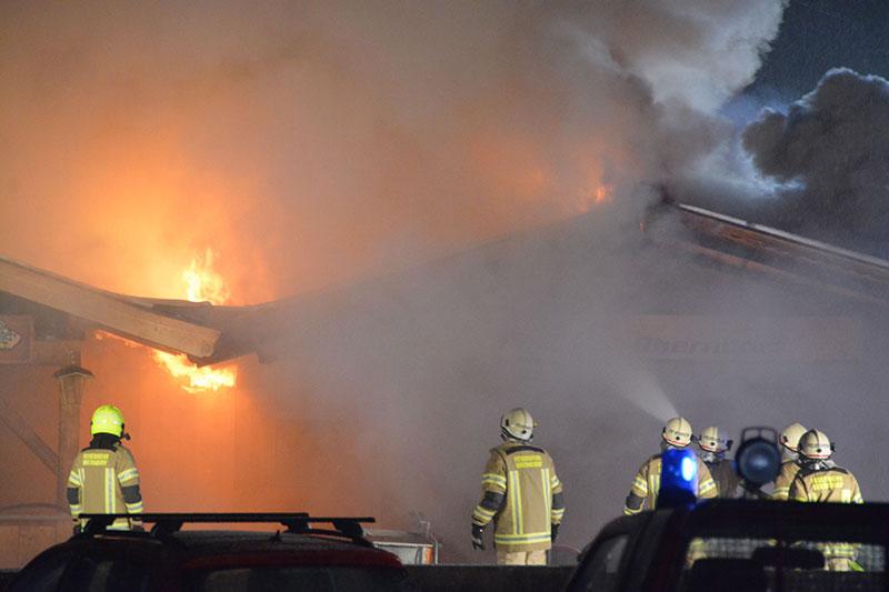 Oberndorf Brand