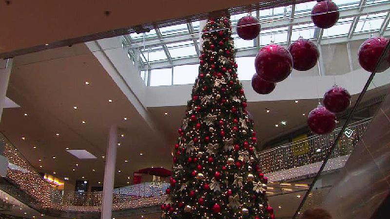 Weihnachten Einkaufen Proteste