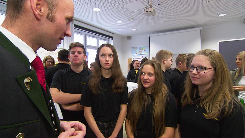 Recruiting Day in der Tourismusschule Oberwart