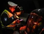Symbolbilder Alkoholkontrolle Polizeikontrolle