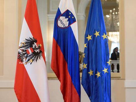 Slovenija nemško govoreča skupina podpora
