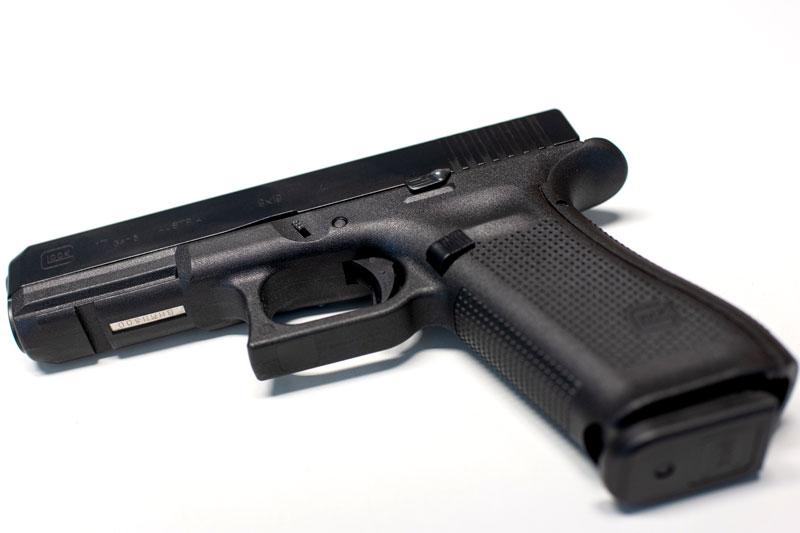 Dienstwaffe der Polizei Glock 17
