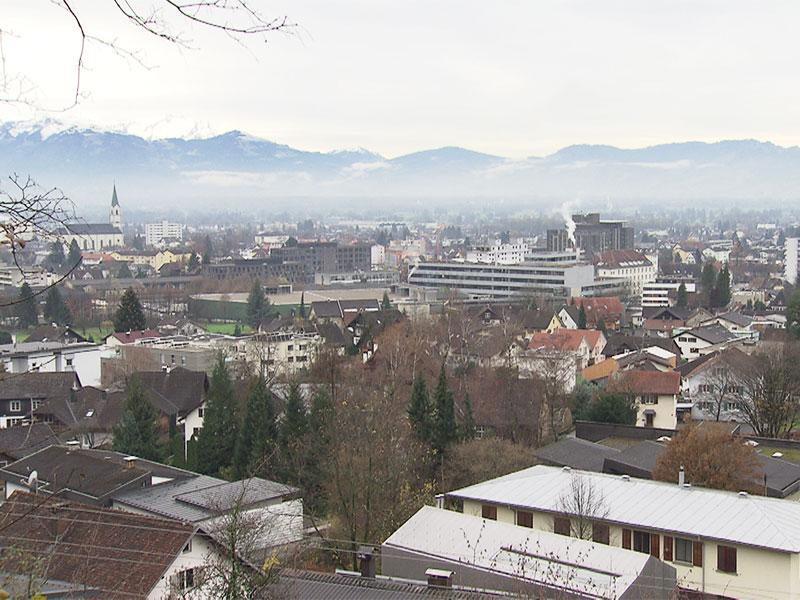Ansicht Stadt Dornbirn