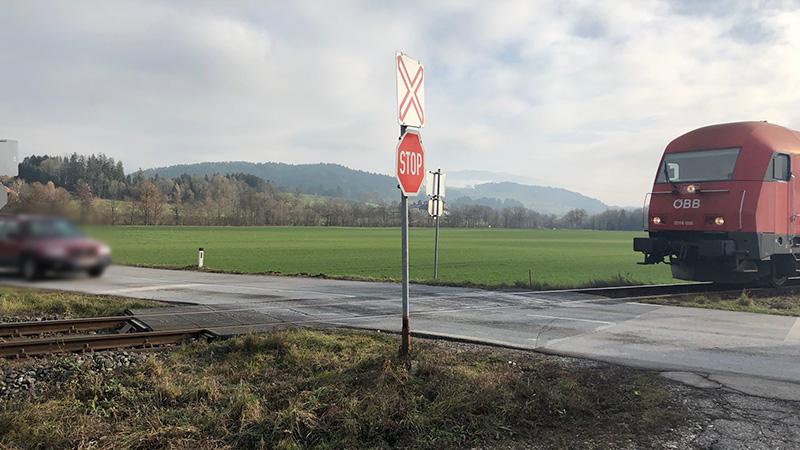Eisenbahnkreuzung St Paul Lavanttal viele Unfälle