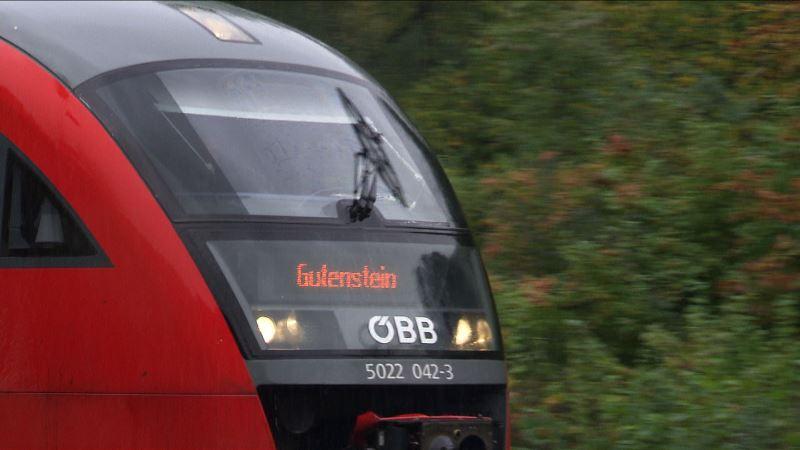 Regionalbahn Gutenstein