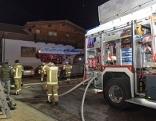 Brand Pension Neustift Feuerwehr