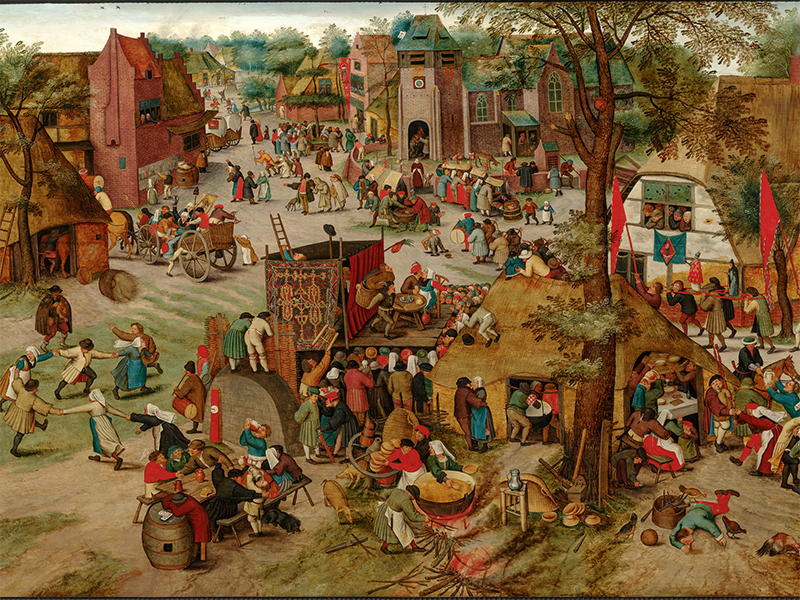 Bild: Pieter Brueghel der Jüngere (1564 – 1638), Kirmes
