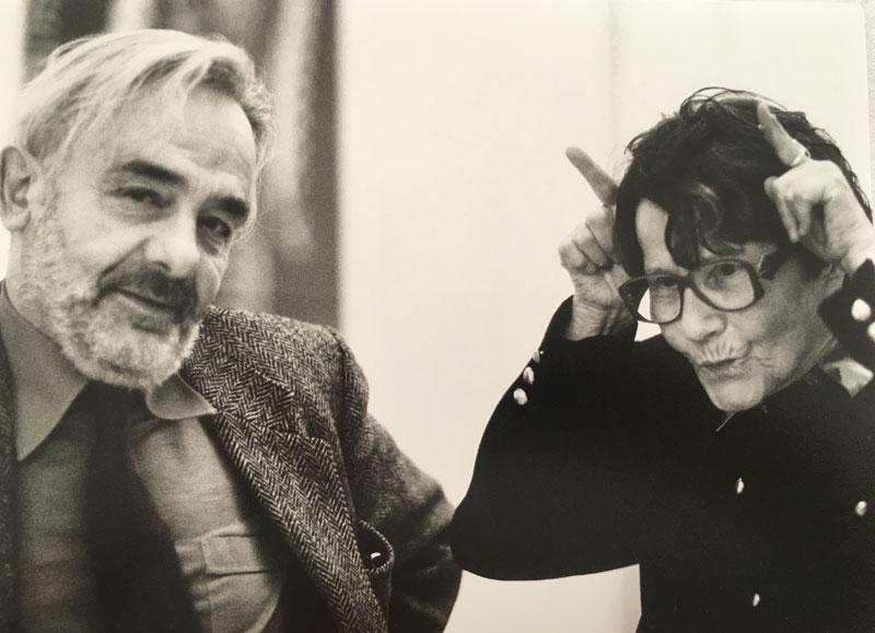 Arnulf Rainer und Maria Lassnig