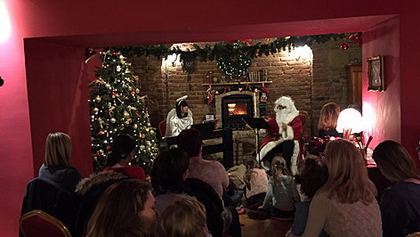 mikulás party christmas szalon, karácsonyi salon
