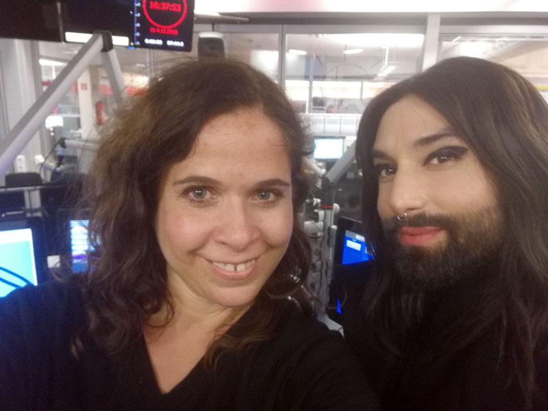 Gabi Kerschbaumer und Conchita