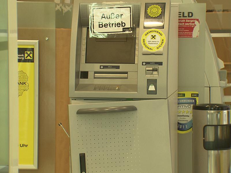 Bankomat Hauptplatz Bleiburg Fahndung