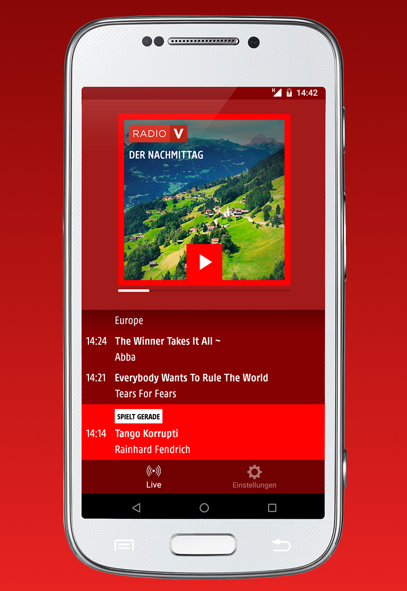 Neue ORF Radio Vorarlberg App