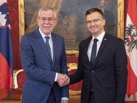 Šarec Dunaj Kurz odprta vprašanja obisk