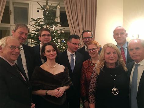 Manuel Jug premier Marjan Šarec obisk Dunaj