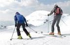 Skifahrer Pistenchecker