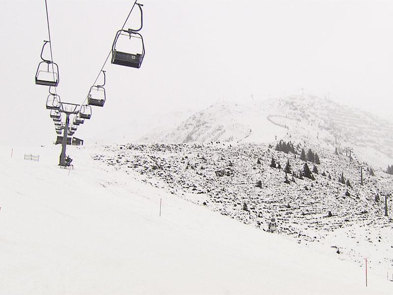 Schigebiete mit wenig Schnee