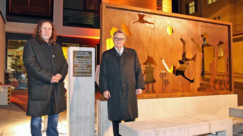 spomenik dobrovoljci zemaljska vlada umjetnik Paul Mühlbauer Hans Niessl