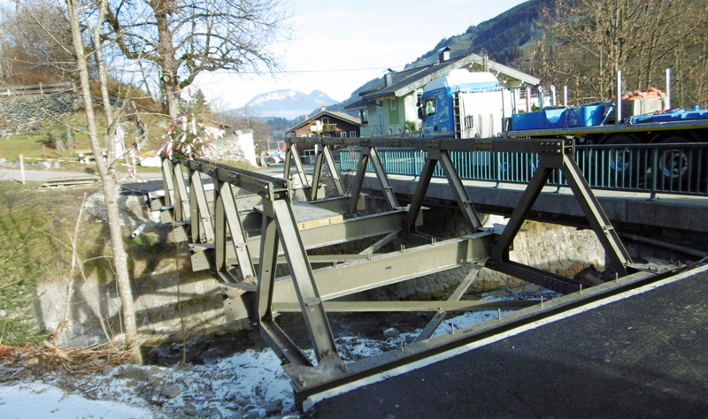 Behelfsbrücke
