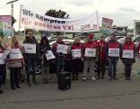 Handel KV Protest