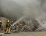 Brand in Lagerhalle in Hopfgarten