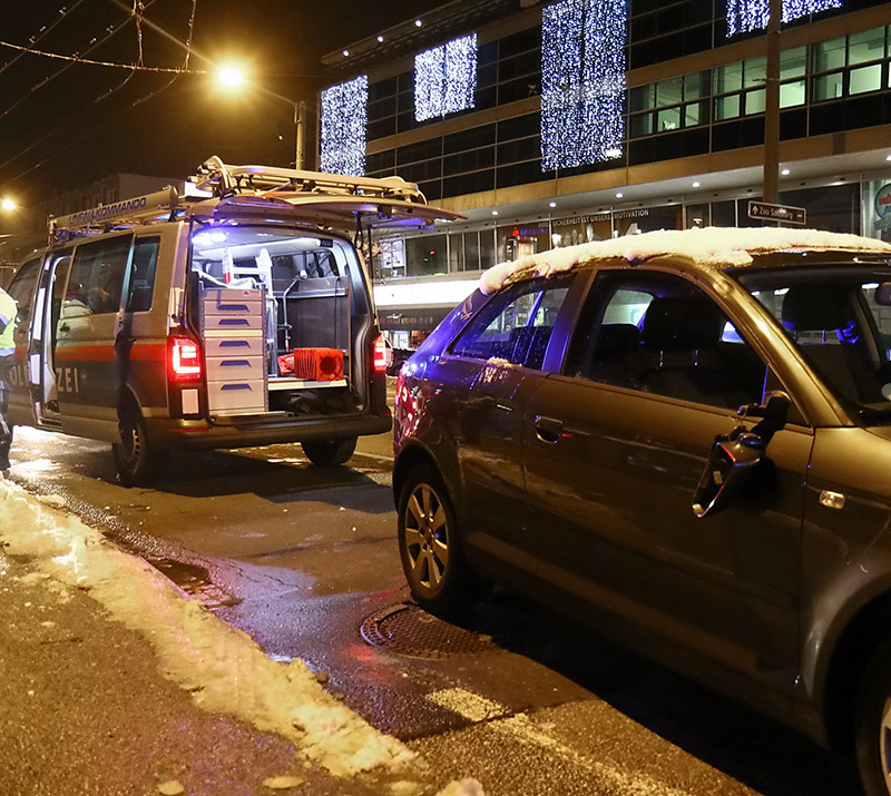 91-Jähriger auf Alpenstraße niedergefahren