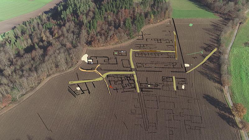 Militärlager Archäologie Zollfeld Virunum