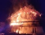 Brand in Mehrparteienhaus