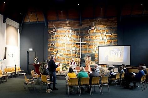 Dauer-Gottesdienst in der Bethelkirche im niederländischen Den Haag gegen die Abschiebung der armenischen Familie Tamrazyan