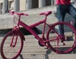 Fahrrad Essenslieferant