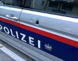 Polizeiauto Schuss Amstetten