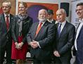 SGZ GK generalni konzulat novoletni prednovoletni sprejem Milan Predan Peter Česnik Benjamin Wakounig sme