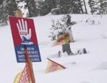 Lawinengefahr Schnee Piste