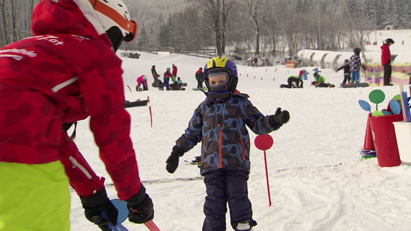 15.12.18 Skifahren Kinder Wintersport Gratis Skikurs ST. Corona Skikids