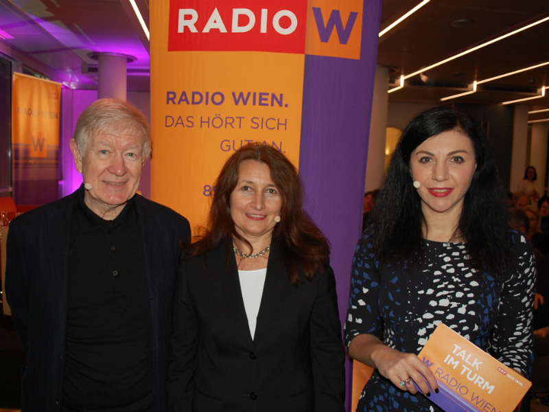 Armin Thurnher, Susanne Strobach und Jasmin Dolati