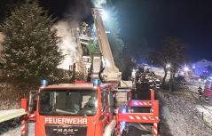Brand in Bad Kreuzen