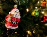 Weihnachtsmann Christbaum Weihnachten