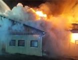 Brand Fürnitz Ziegen