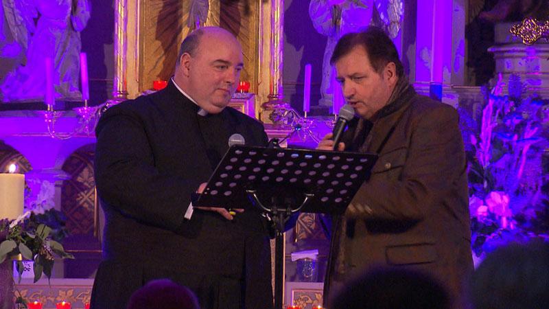 Pfarrer Franz Brei und Karl Kanitsch